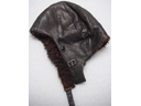 # ac122 WWII leather winter pilot helmet