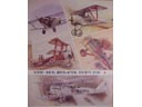 # avpost112 M.Petrovskiy aircraft of WWI artworks on poster