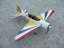# yaksu140 YAK-54 tandem-seat aerobatic trainer model.