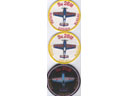 # yaksu205 SU-26M sports aerobatic pilot patches at le Bourget 1989 airshow