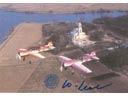 # ya099 Flown in Space SU-26/SU-29 card