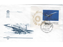 # aairl400 Tupolev TU-144SST first flight Moscow-Alma-Ata 1975 cover