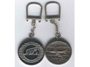 # aairl199 Il-86 Ilyushin Design Bureau key ring