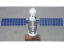 # sm300a Zarya-ISS model signed by cosmonaut S.Krikalev