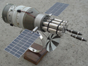 # sm493 DOC-7 Rocket weapon military space station.