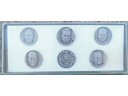 # astp350 Set of 6 commemorative medals