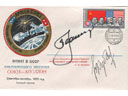 # astp151 Soyuz-19 ASTP Leonov-Kubasov signed cover - Click Image to Close