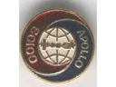# astp400 Soyuz-Apollo 1975 Soviet lapel pins