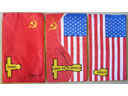 # astp096 ASTP commemorative flags signed by Leonov - Click Image to Close