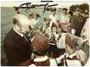 # astp963 Leonov with Young Pioneers signed photo - Click Image to Close