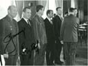 # astp964 Leonov-Kubasov signed photo of Soyuz-19 ASTP and Soyuz -17,18 cosmonauts