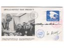 # astp089 1973 American ASTP cover flown on ISS