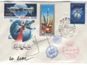 # astp086 Apollo-Soyuz Leonov signed and flown on ISS covers - Click Image to Close