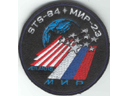 # spp151 MIR-23 STS-84 crew patch