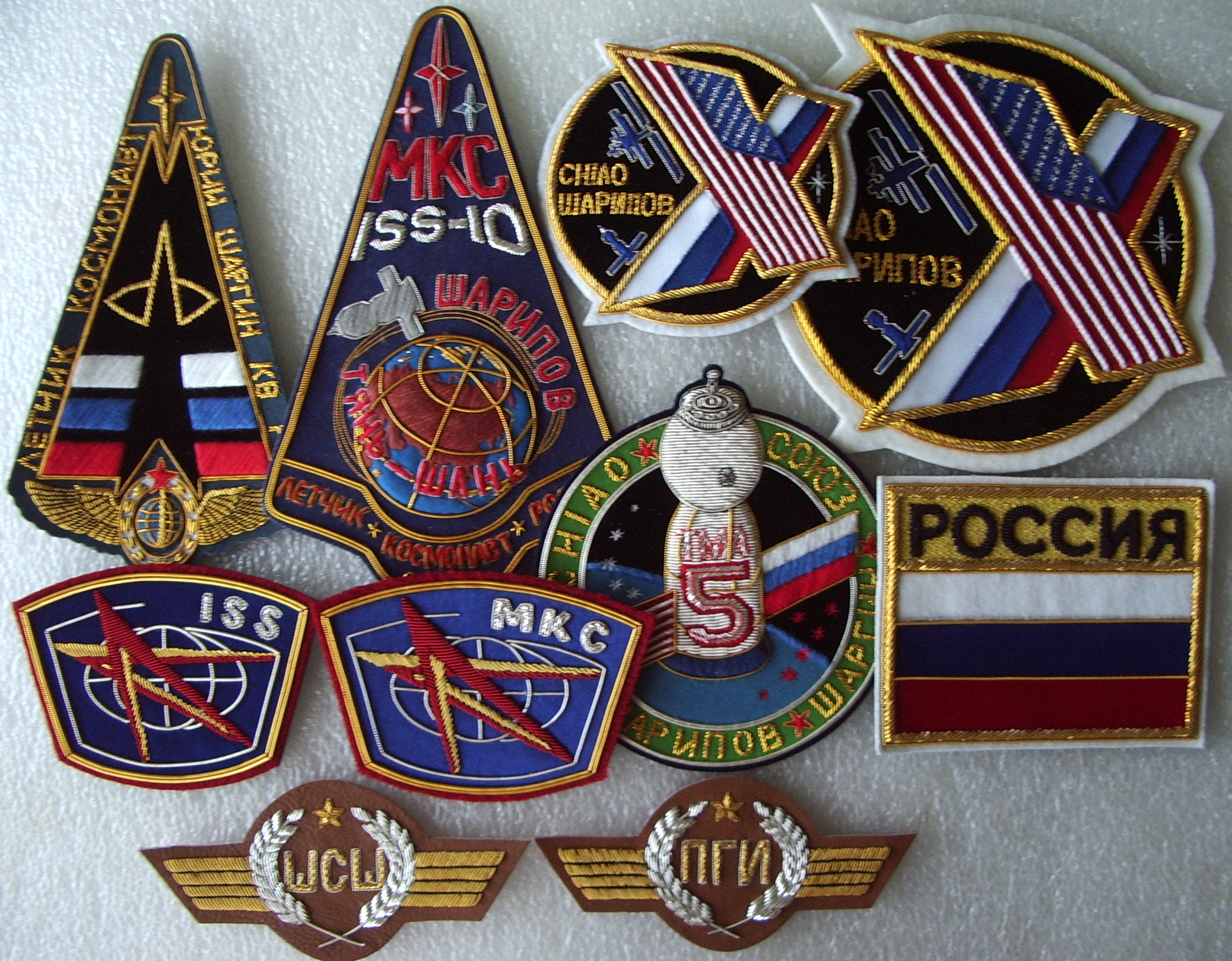 # spp099 Soyuz TMA-5/ISS-10 patches