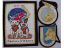 # spp250 Space dogs Belka-Strelka and Laika patches