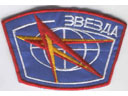 # spp114 Zvezda patch worn by MIR cosmonauts