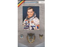 # sbp115 Badges of Romanian cosmonaut Soyuz-40 Dimitru Prunariu