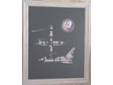 # pstnew117 MIR-Shuttle large framed photo