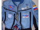 # h051 STS-105/STS-108/ISS flown Penguine suit of Dez
