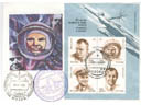 # fc036 Russia-America Resurce-500 flown covers and c