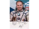 # pf110 Soyuz TM-18/MIR flown photo of commander V.Af