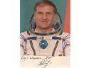 # pf113 Soyuz TM-11/MIR flown photo of commander Afan