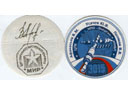 # fpit400 Soyuz TM-18/MIR flown decals/stickers