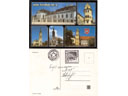 # fpit404 Slovakian Bratislava postcards flown on Soy - Click Image to Close