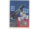 # vstk108 Vostok-1,2,3,4 cosmonauts and Postnikov signed 1962 card