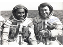 # soy311 Soyuz-38 commander Yuri Romanenko and Cuban cosmonaut mendez in training