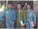 # cspc131 Soyuz TM-17 team signed colour photo - Click Image to Close