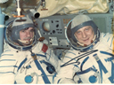 # cspc163 Soyuz-23 Zudov-Rozhdestvenskiy inside ship - Click Image to Close