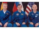 # cspc099a ISS-13 crew signed photos