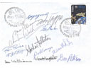 # acc140 13 astronauts-cosmonauts signed cover of XI ASE Congress