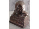# sscp130 Gagarin miniature bronze bust - Click Image to Close