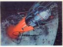 # sprnt702 Lunar Lander artwork card signed by Leonov
