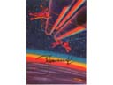 # sprnt704 Montage of Lunar Station Leonov signed artwork card - Click Image to Close