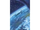 # sprnt705 Our Blue Planet artwork of Leonov signed card