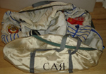 # h045 Sokol suit bag flown on Soyuz TM-9/MIR-6
