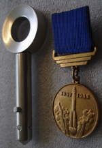 # h047a Launch key with award medals